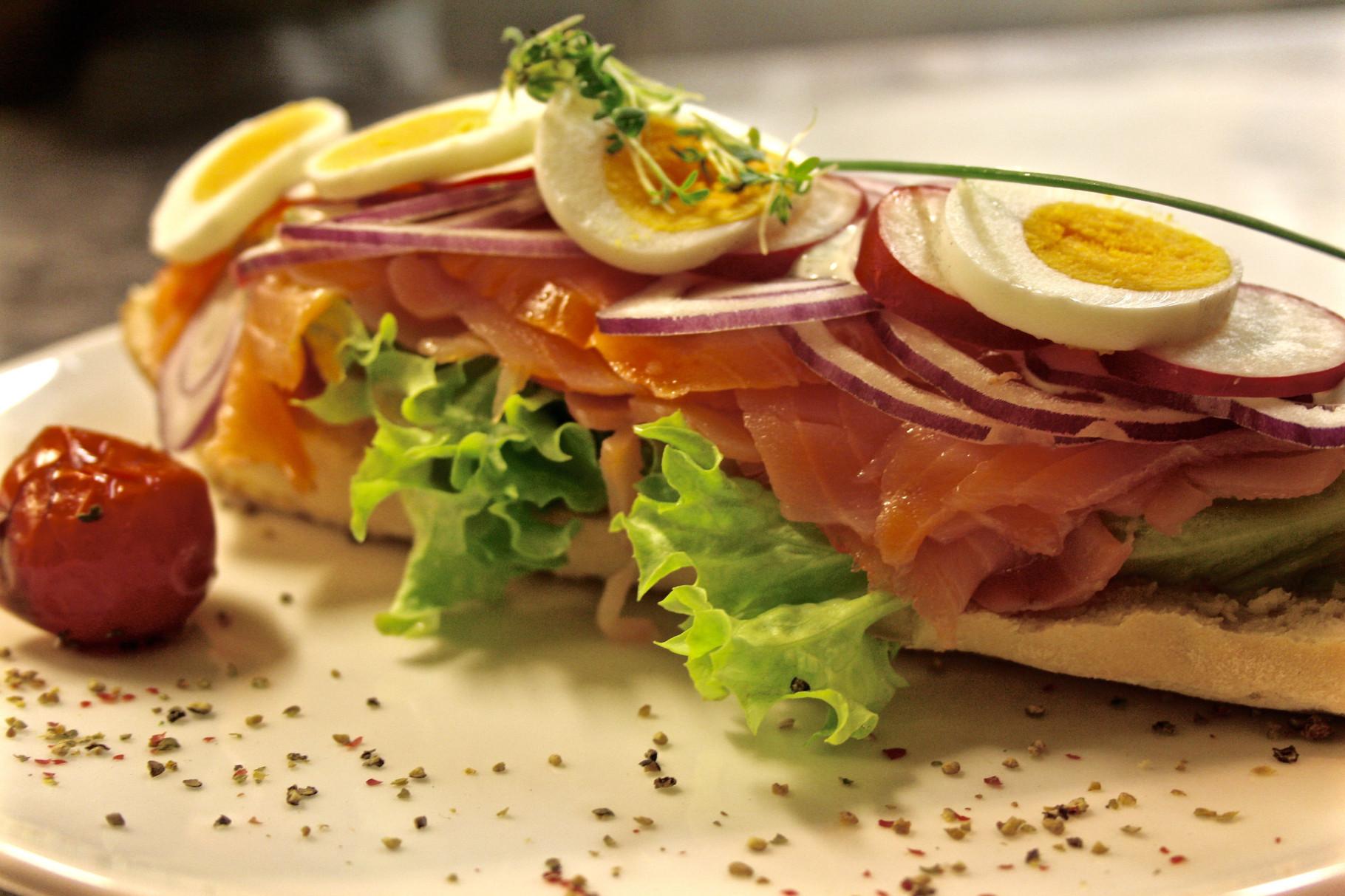 """Sandwich """"St. Pierre"""""""