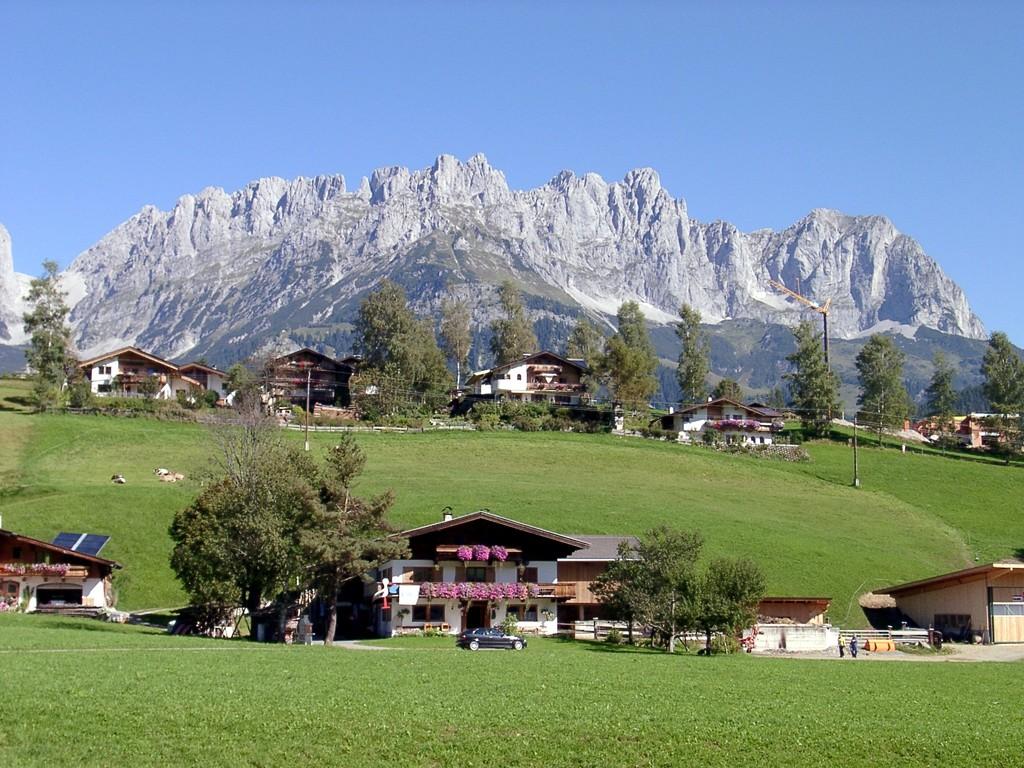 Am Kaisergebirge vorbei zum Gerlospass