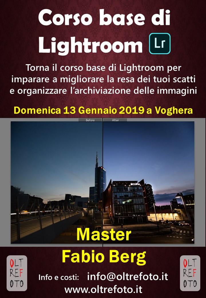 CORSO BASE LIGHTROOM
