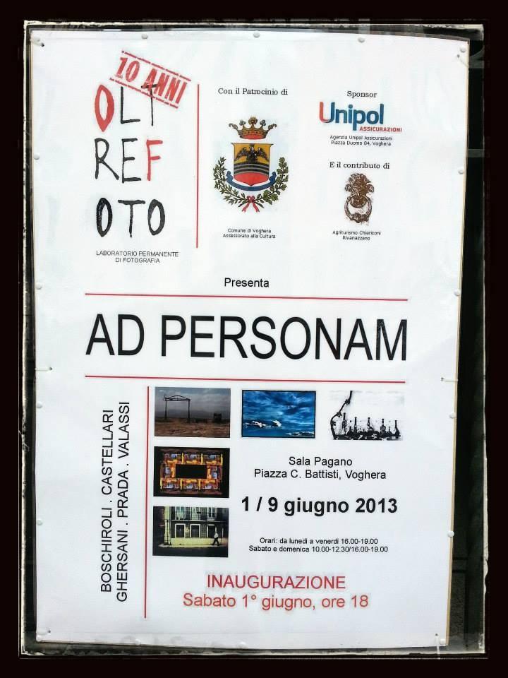 Manifesto Ad Personam Oltrefoto