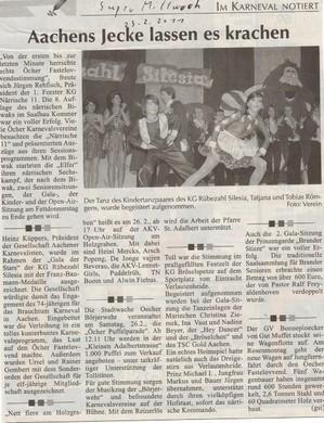 aus der Super Mittwoch vom 23.02.2011