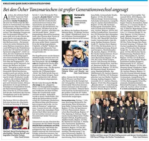 AZ-Ausgabe vom 07.02.2014