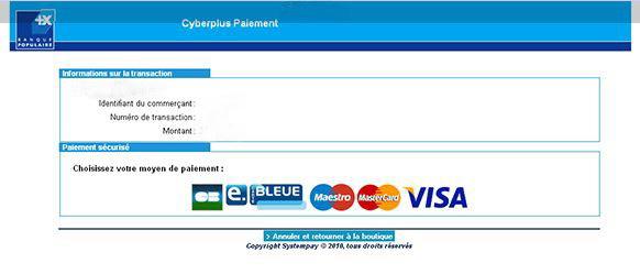 Commande de tirage photo avec paiement sécurisé VISA CB Mastercard Paypal