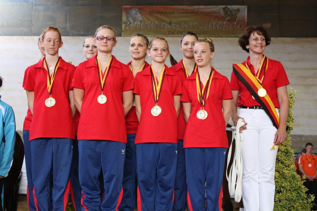 Gold für die M - Gruppe Fortuna Saarburg