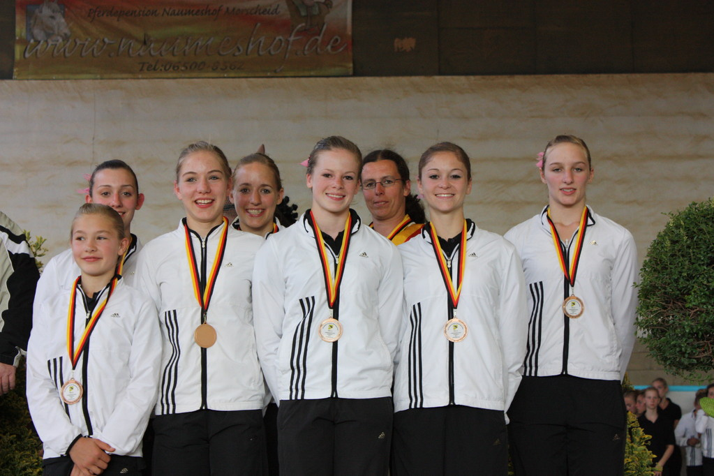 Gold für das Juniorteam Mainz - Ebersheim