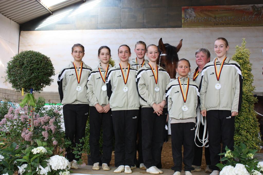 Silber für das Juniorteam Mainz - Laubenheim
