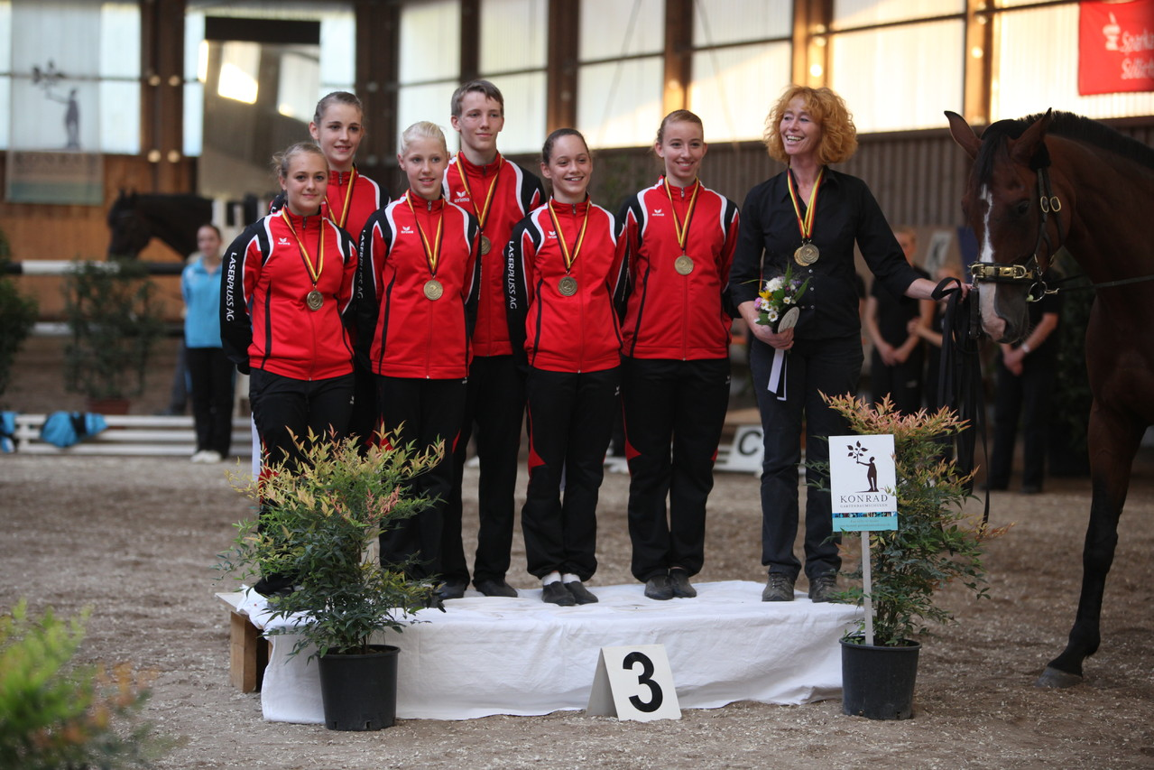Bronzemedaille für das Juniorteam Wildenburg
