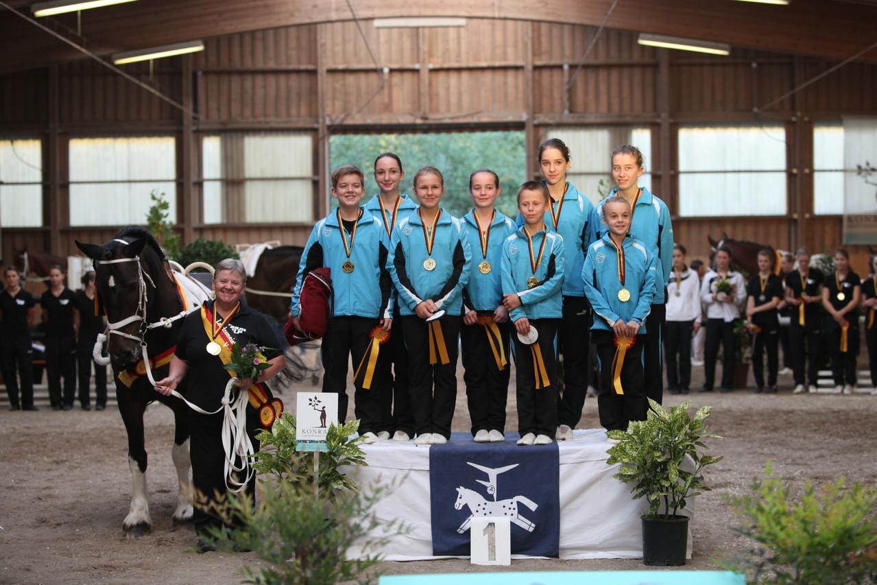 Kleine ganz groß: Landessieger der M**-Mannschaften, Laubenheim