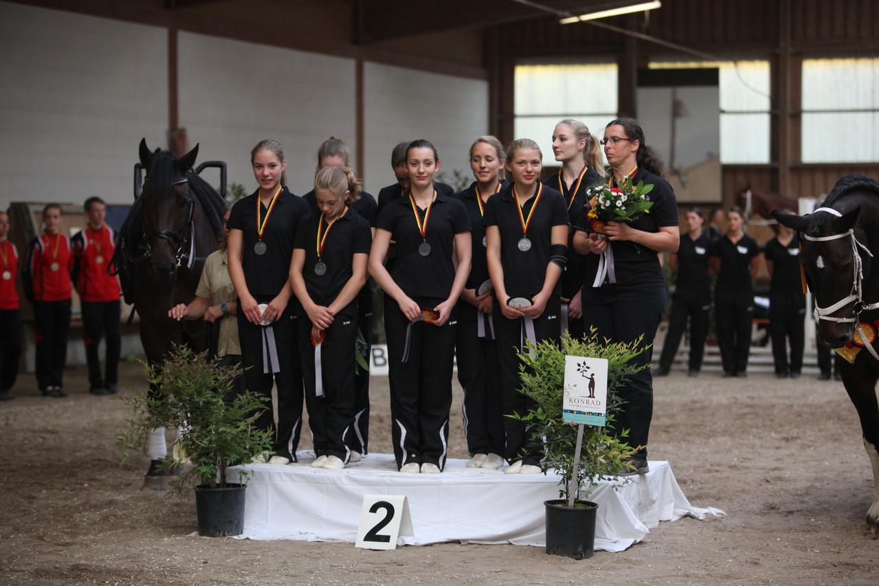 Silbermedaille M**-Team Mainz-Ebersheim