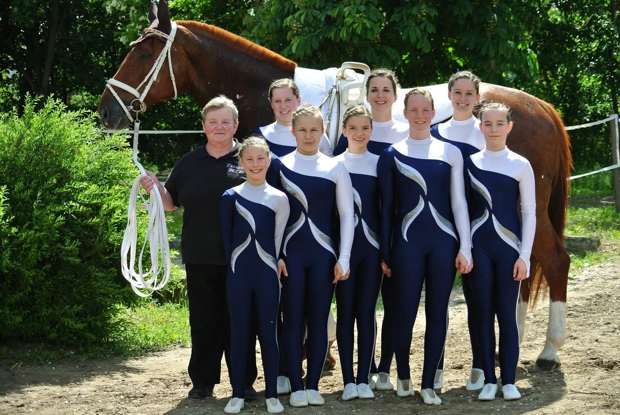 Rheinhessenmeister bei den Mannschaften - Laubenheimer M**-Team