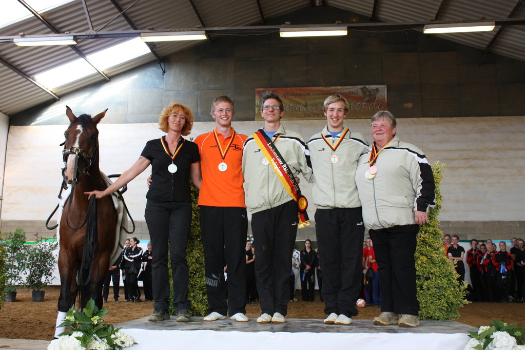 Landesmeister Einzelvoltigieren Herren 2011