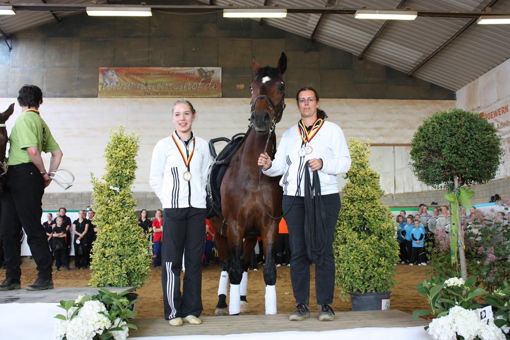 Bronze für Clara Hartung, VFZ MZ-Ebersheim, Alex Dietrich, Raymiss