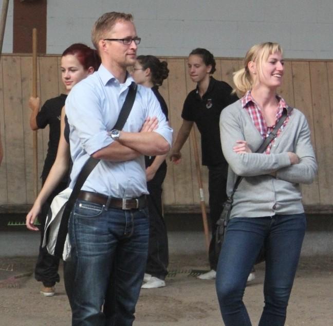 Holger Janssen und Kristina Bolz