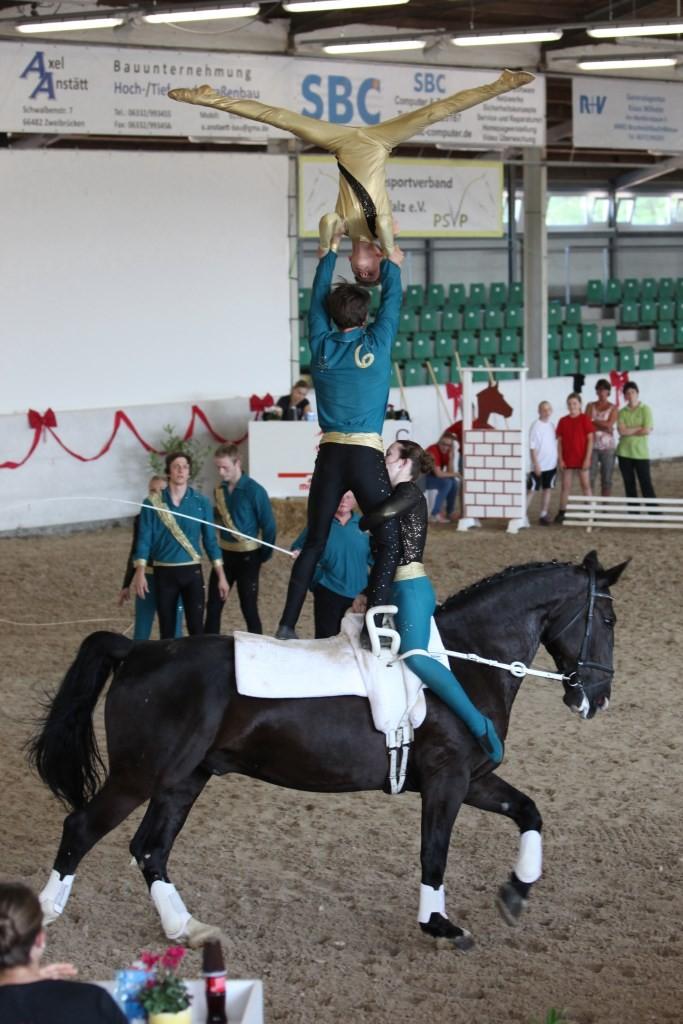 S-Team Laubenheim siegt auf Dauner Wallach Grandeur