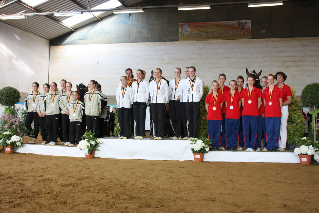 Landesmeister der Juniorteams 2011