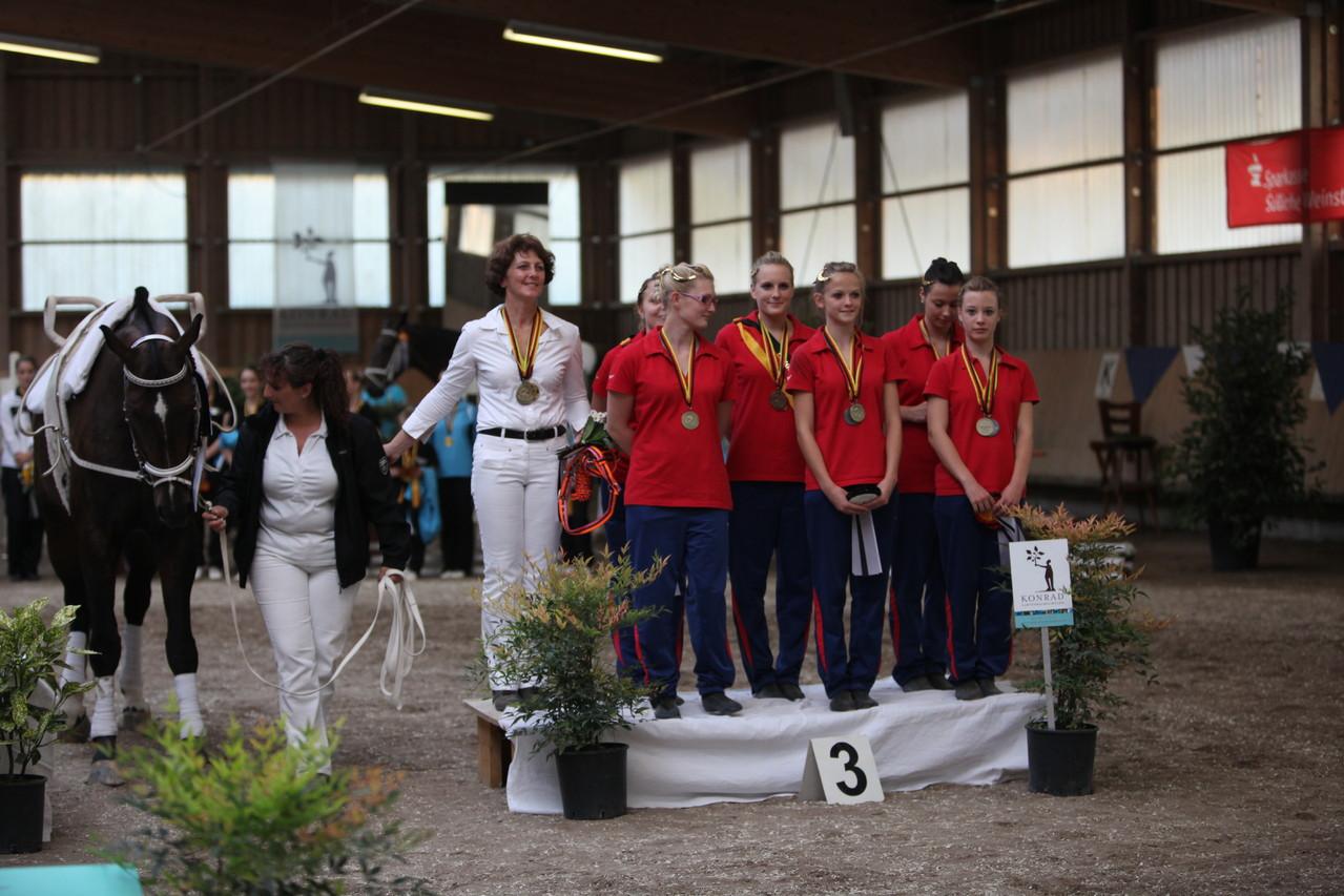 Bronze für das S-Team Fortuna Saarburg