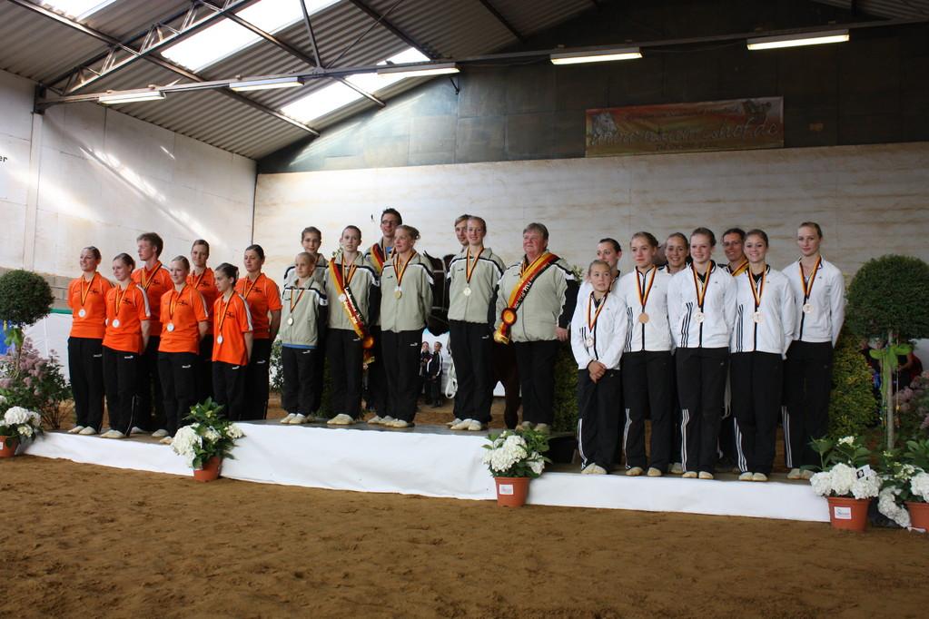 Landesmeister der S - Gruppen 2011