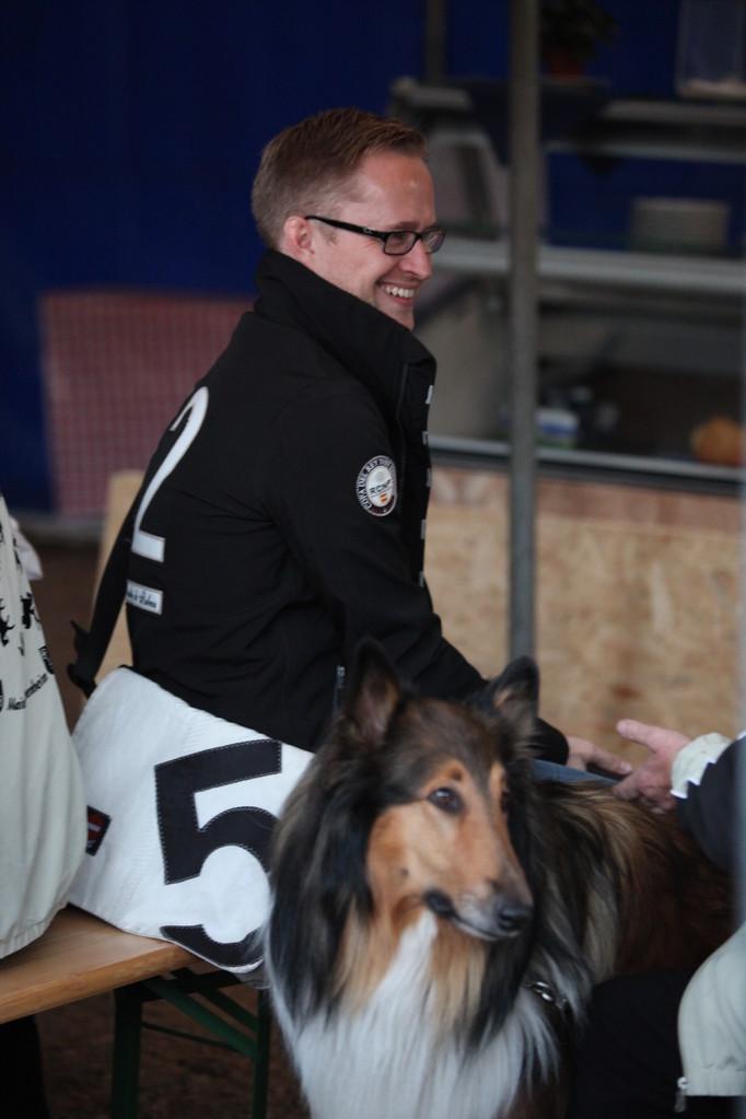 ein letztes Mal als Landestrainer dabei: Holger Janssen