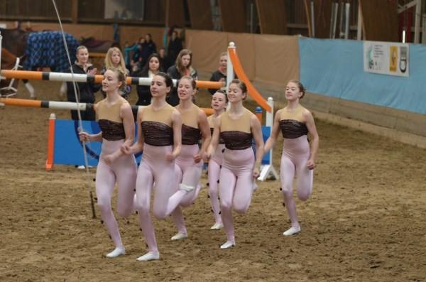 Einlauf Juniorteam Ebersheim