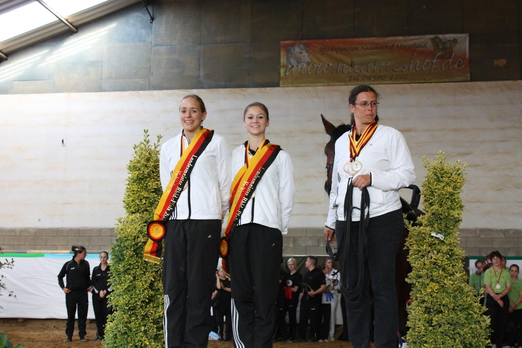 Gold für Anna Werling & Sarah Nehmert, VFZ MZ-Ebersheim, Alex Dietrich, Rubicon