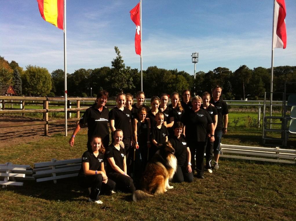 Super Stimmung beim Team Rheinland-Pfalz in Verden
