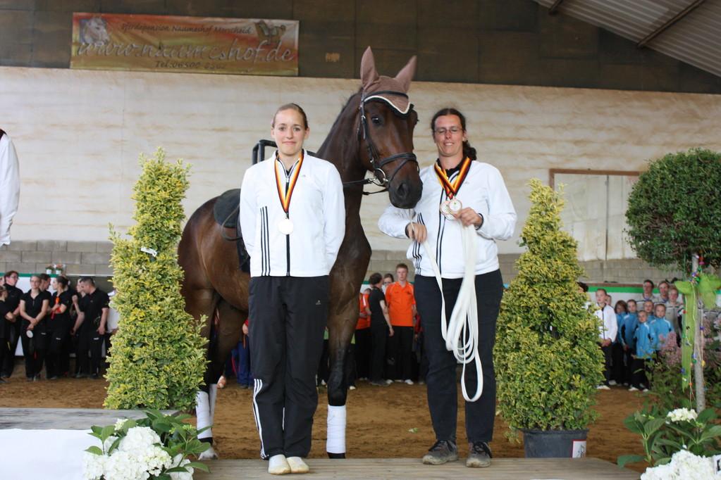 Bronze für Anna Werling, VFZ MZ-Ebersheim, Alex Dietrich, Rubicon