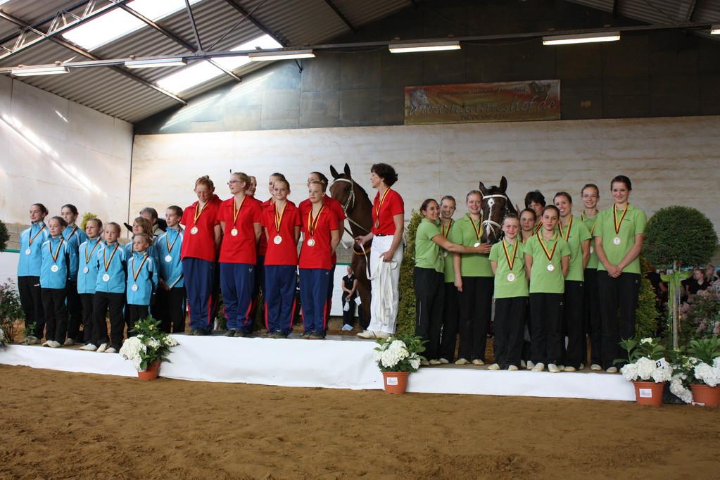 Landesmeister der M - Gruppen 2011