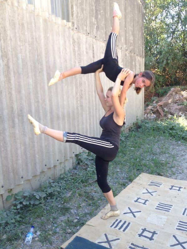Janine und Luisa vom Laubenheimer Juniorteam