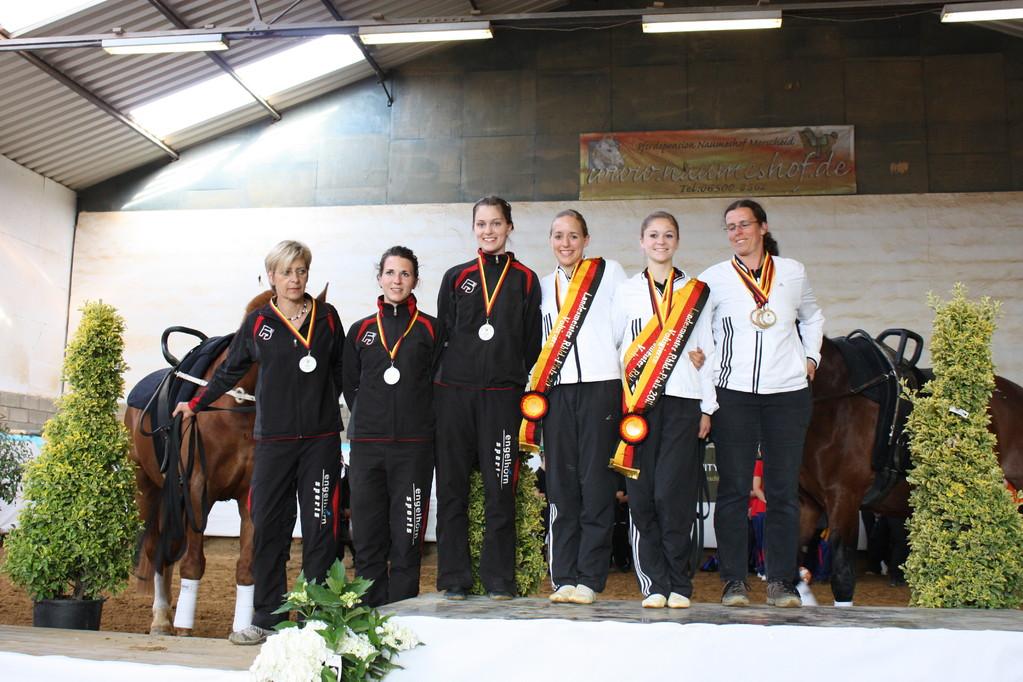 Landesmeister Doppelvoltigieren 2011