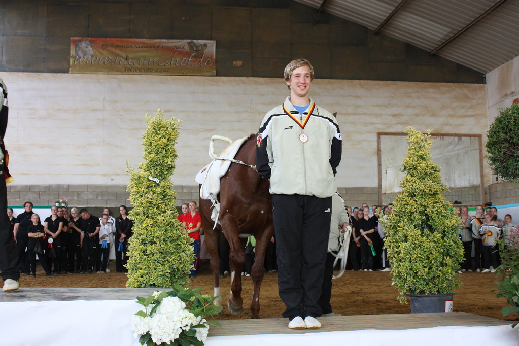 Bronze für Jürgen Köhler, Laubenheimer RV, Hanne Strübel, Elevation