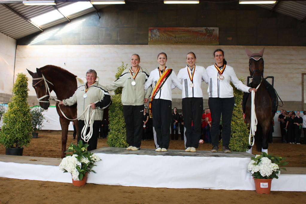 Landesmeister Einzelvoltigieren Damen 2011