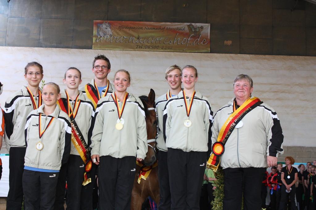 Gold für das S - Team Laubenheim