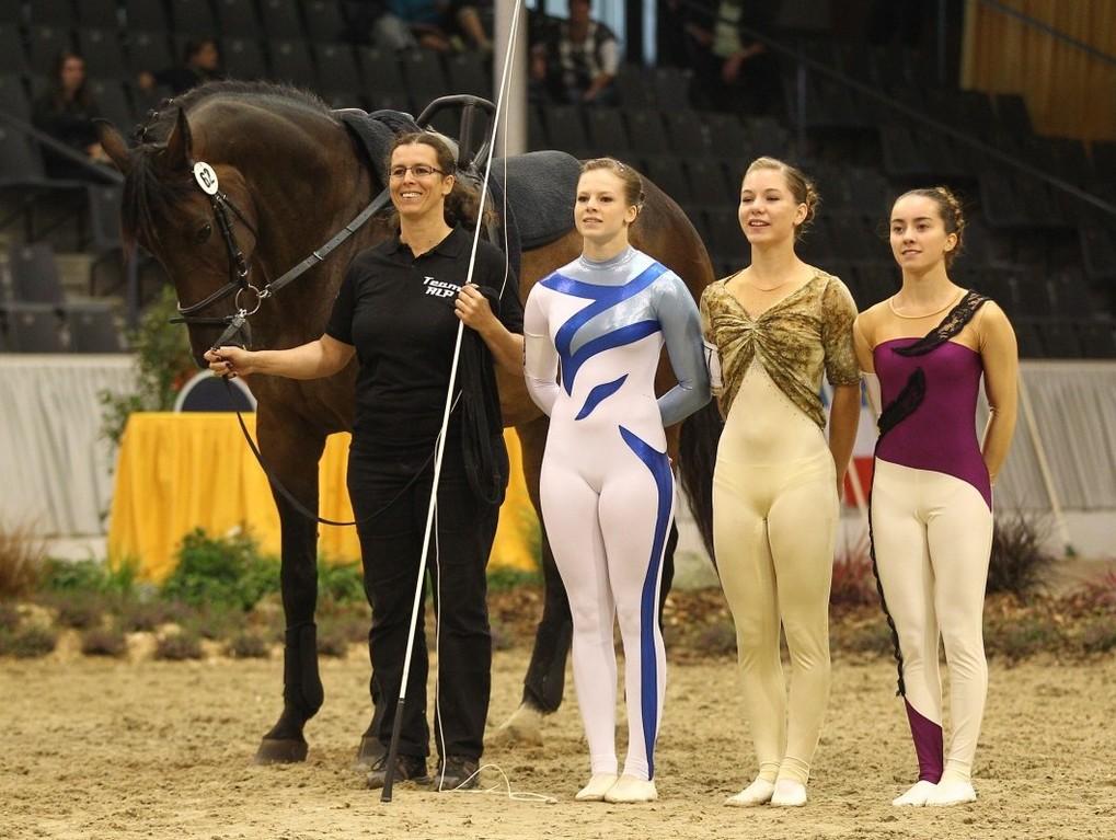 v.l. Rubicon, Alexandra Dietrich, Annika Dietrich, Clara Hartung und Chiara Congia