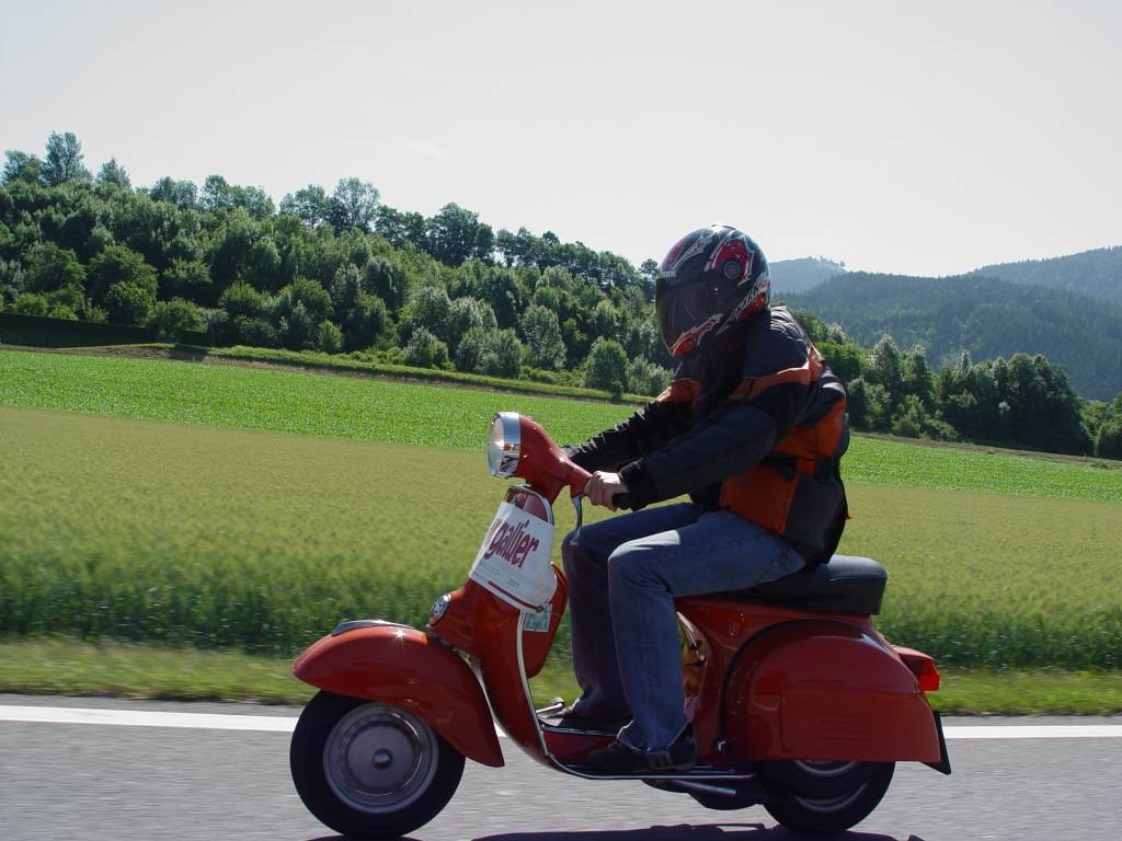 Vespa Rally 200 Christian Rapf