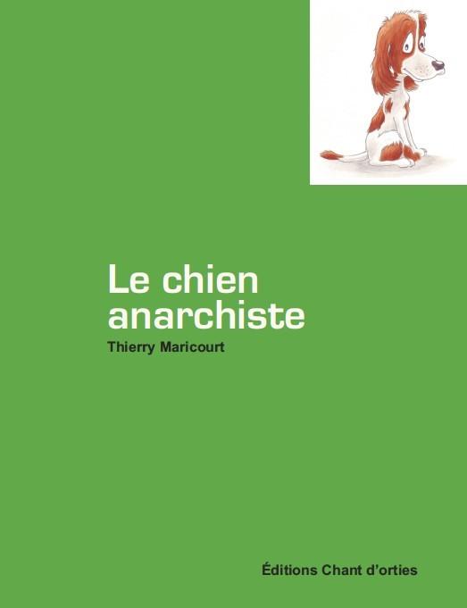 Couverture chien anarchiste
