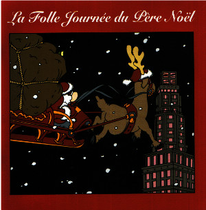 couverture La folle Journée du Père Noël