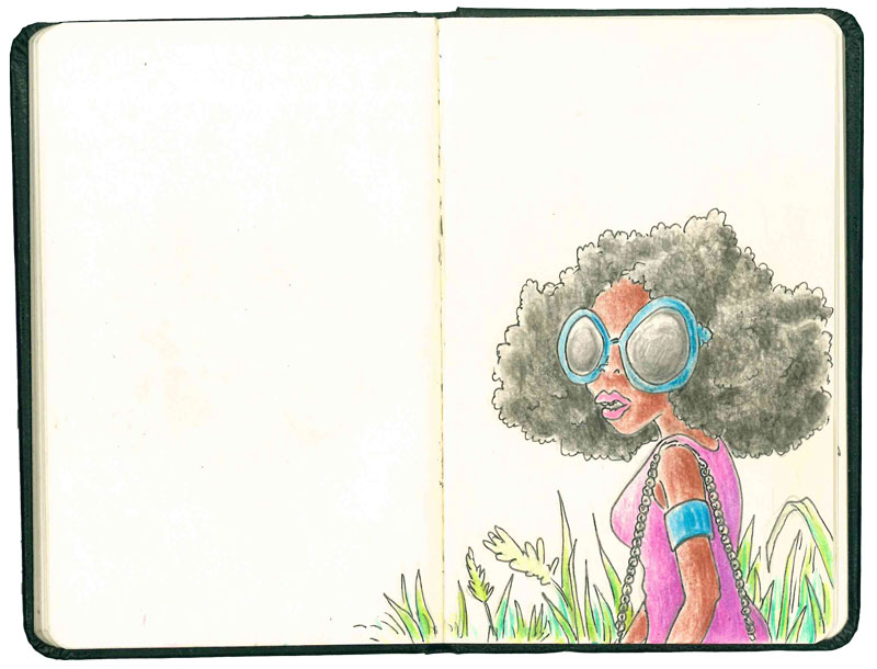 On l'imagine nimbée d'une coiffure afro et d'un nuage de fumée, gauloise sans filtre aux lèvres. Les années ont beau passer, Angela Davis reste une icône.