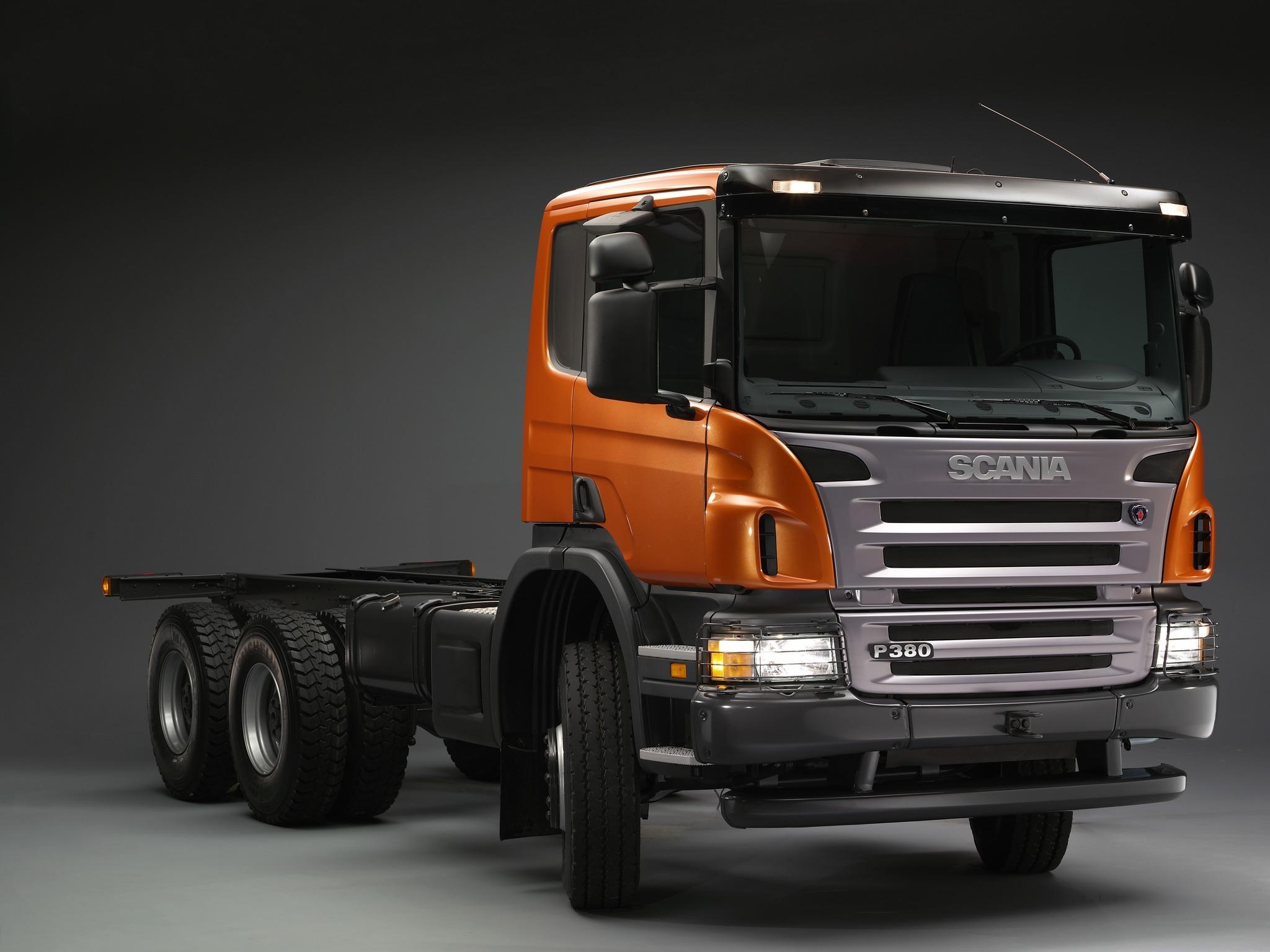 Scania trucks P series - Truck manual, wiring diagrams