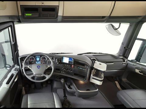 scania r420 interior