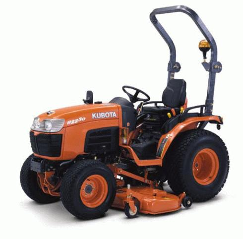 KUBOTA B2230D service repair manual