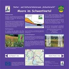 Infotafel Schusteracht: Moore im Schwentinetal