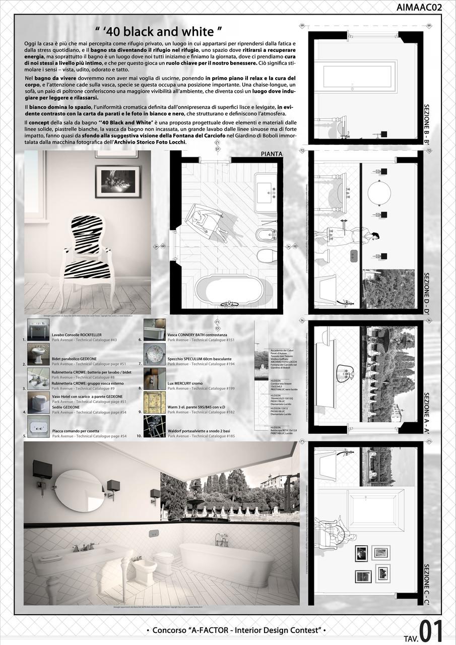 il concorso vuole evidenziare la capacit del progettista nellideazione di uno spazio bagno integrando creativit del progetto qualit dei materiali e