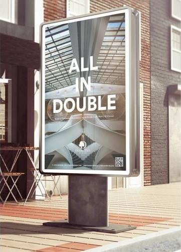 Fotografia w kampanii reklamowej hotelu Double Tree by Hilton
