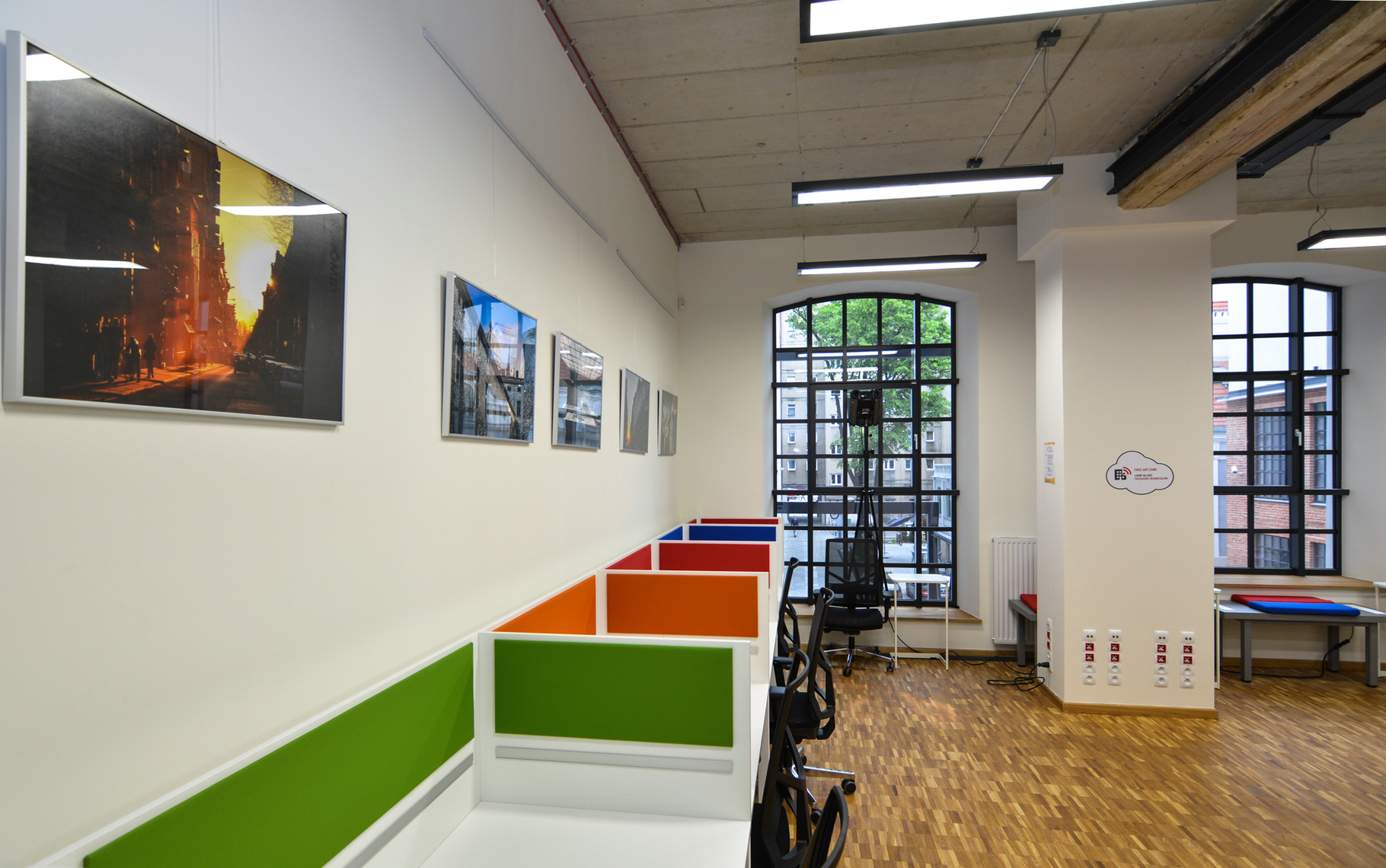 Fotografie w siedzibie Business Link Łódź