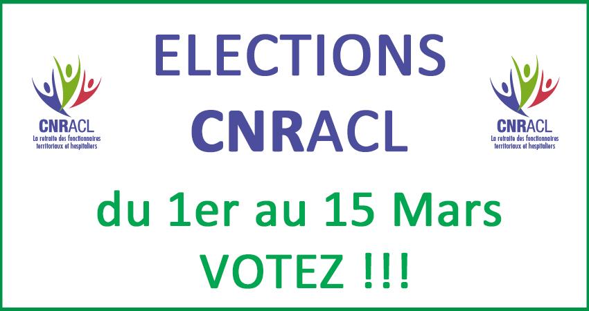 Elections CNRACL - Votez