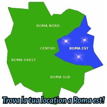 sale e location feste per bambini roma est