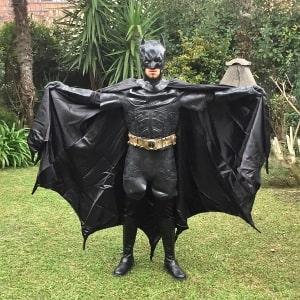 mascotte batman roma