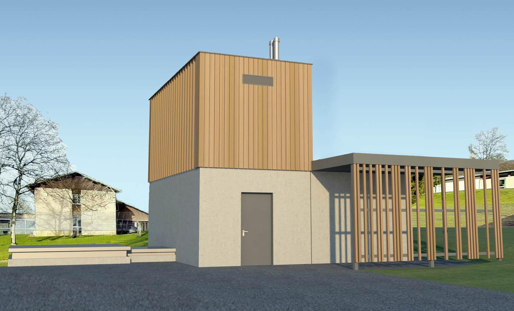 Construction d'une chaufferie bois énergie à Membrey (70) - Permis accordé