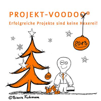 Projekt-Voodoo® Weihnachtsgrüße, © Bianca Fuhrmann 2013