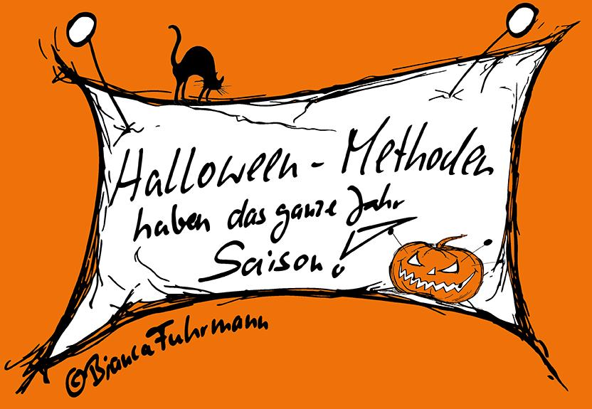 Projektmanagement: Halloween-Methoden haben das ganze Jahr Saison! © Bianca Fuhrmann